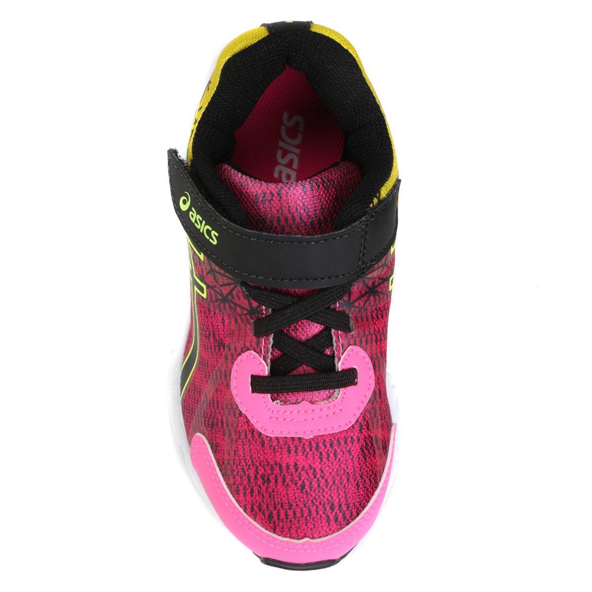 Tênis Infantil Asics Fantasy 2 Ps - Pink e Amarelo - Compre Agora ... e810bce0fd830
