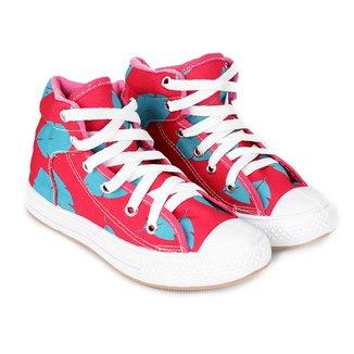 Tênis Infantil Cano Alto Shoestock Estampado Feminino