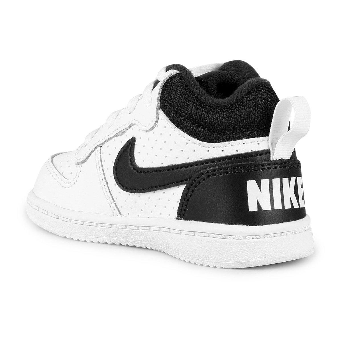 c14885928b5 Tênis Infantil Couro Nike Court Borough Mid - Compre Agora