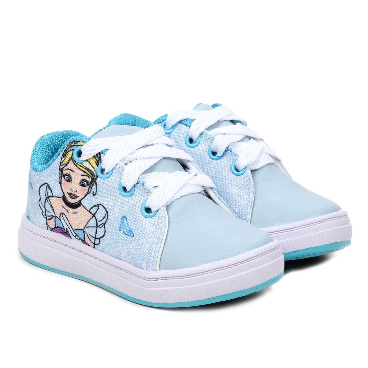 Tênis infantil Disney Princesa Cinderela