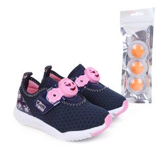Tênis Infantil Kidy Protect Feminino + Pastilhas Repelentes