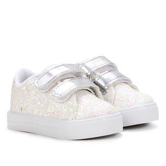 Tênis Infantil Kurz Super Glitter Shine Feminino