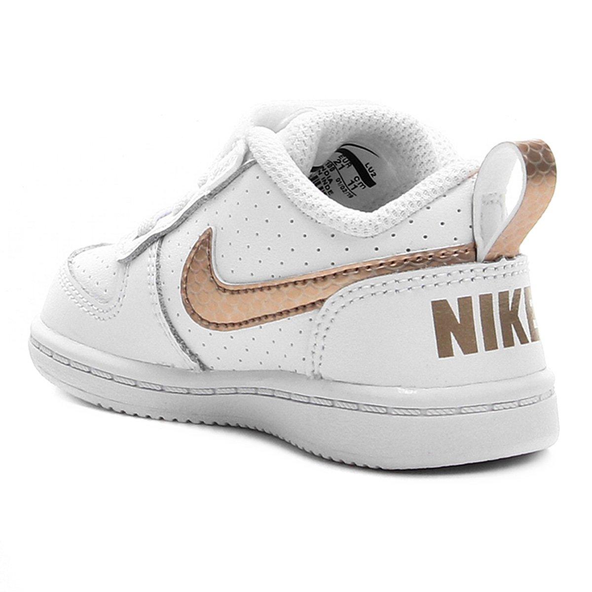 Zapatillas Nike Court Borough Low EP Infantil | Netshoes