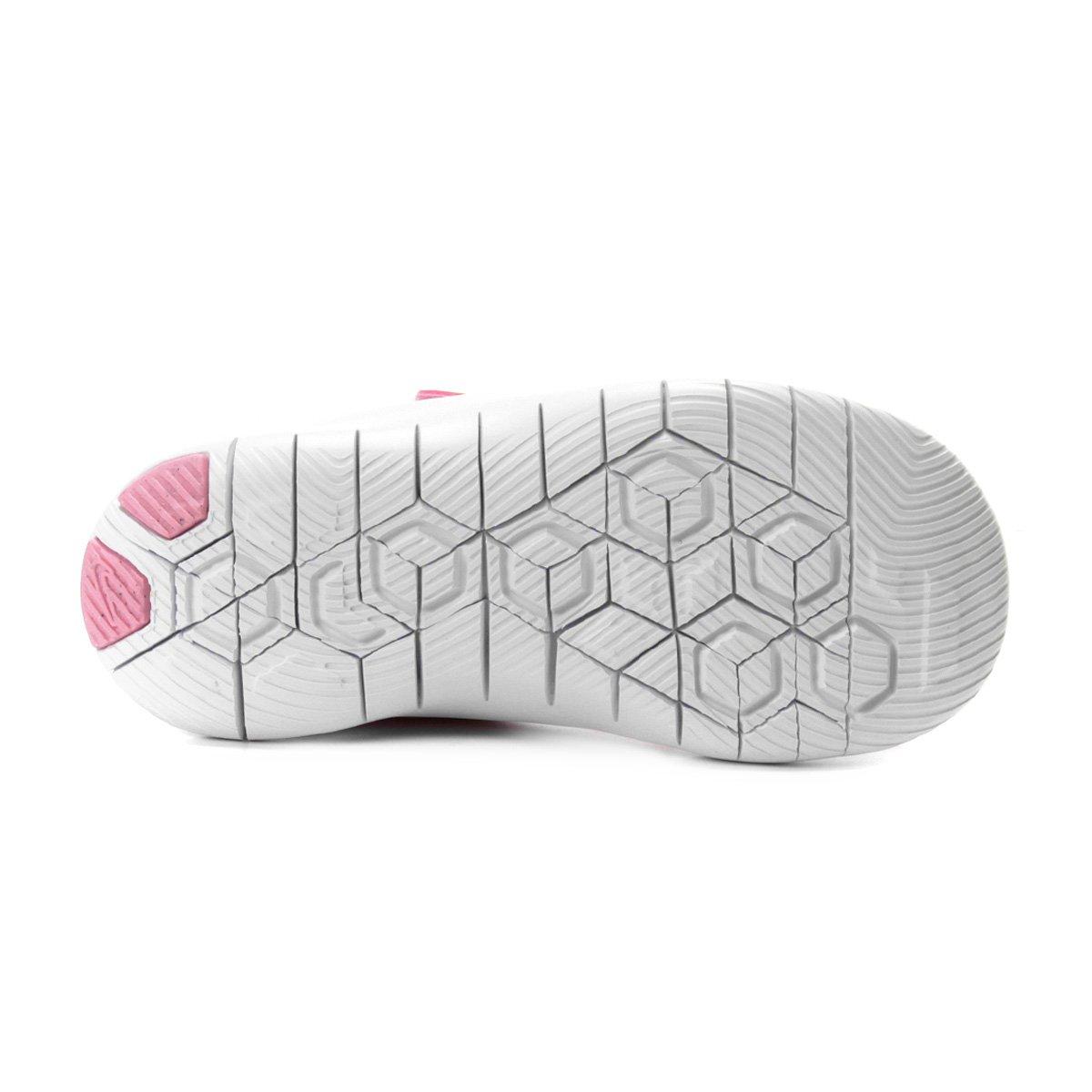 Tênis Infantil Nike Flex Contact 2 Feminino Rosa e Branco