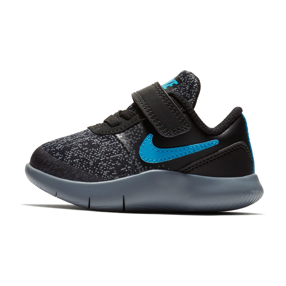 397f9593b8 Tênis Infantil Nike Flex Contact Masculino - Preto e Cinza - Compre ...