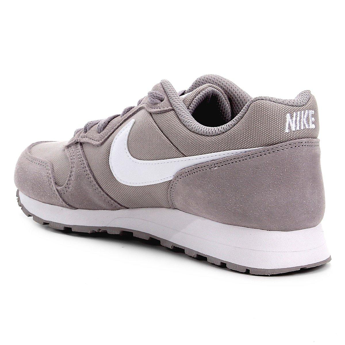 Tênis Infantil Nike MD Runner 2 PE BG Cinza e Branco