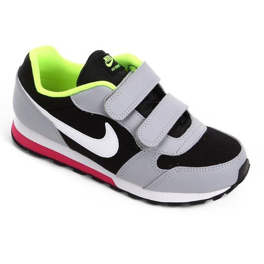 amplia selección de colores tan baratas últimas tendencias de 2019 Tênis Infantil Nike Md Runner 2 Velcro Masculino - Preto e Gelo ...