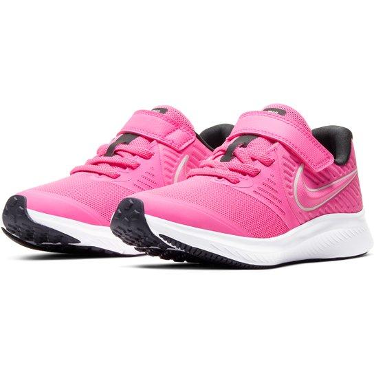 Comprometido Evaluación Señora  Tênis Infantil Nike Star Runner 2 Psv Masculino - Rosa e Branco   Zattini