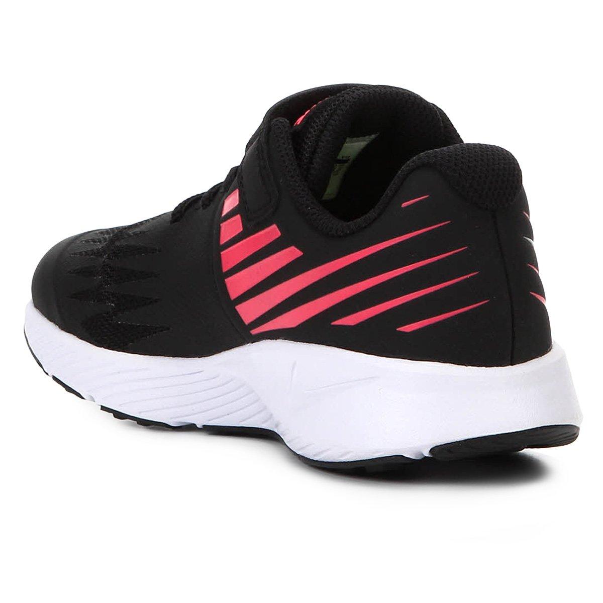 2caaea7bee Tênis Infantil Nike Star Runner Feminino - Preto e Rosa - Compre ...