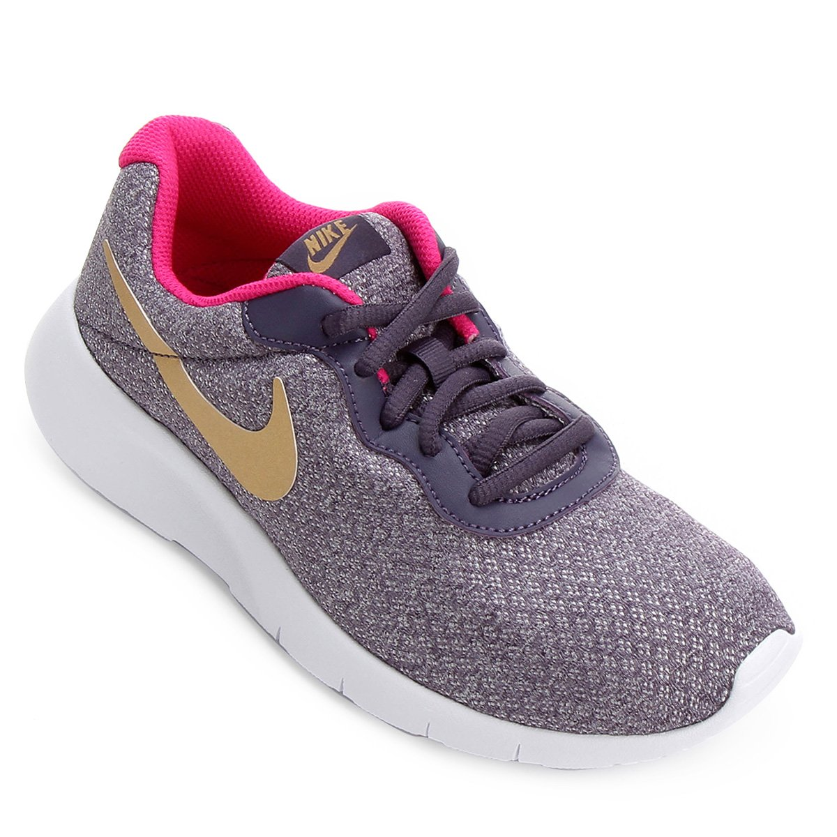 Tênis Infantil Nike Tanjun Masculino - Cinza e Pink - Compre Agora ... 3f73e72cdeca5