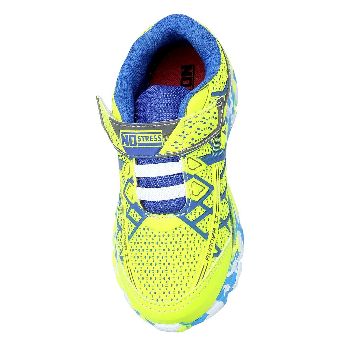 a3ffeebf903 Tênis Infantil No Stress Running Masculino - Amarelo - Compre Agora ...