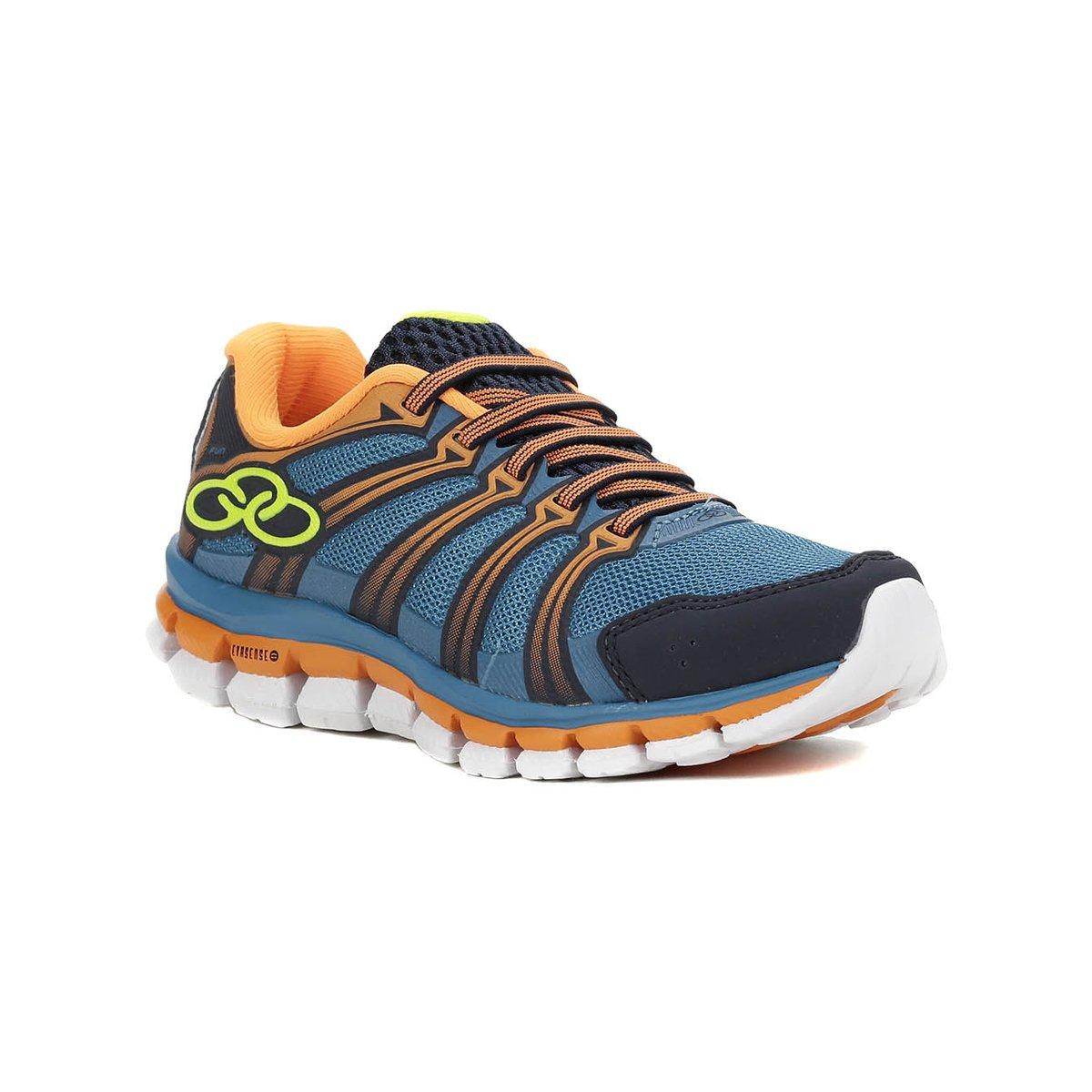 5a96ef686 Tênis Infantil Para Menino Olympikus Fun - Azul laranja - Compre Agora