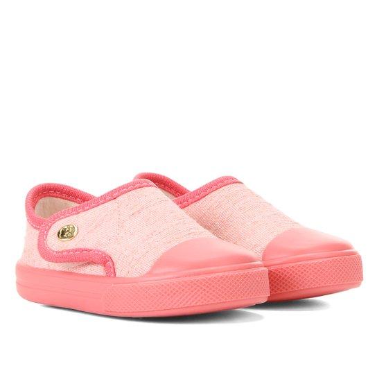 Tênis Infantil Pimpolho Confort - Rosa Claro