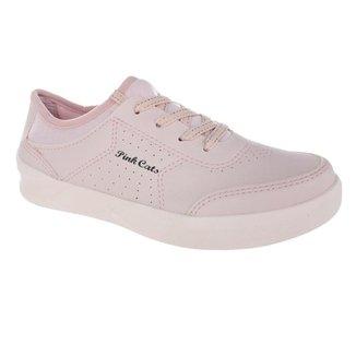 Tênis Infantil Pink Cats Icon Feminino