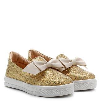 Tênis Infantil Shoestock Glitter Feminina