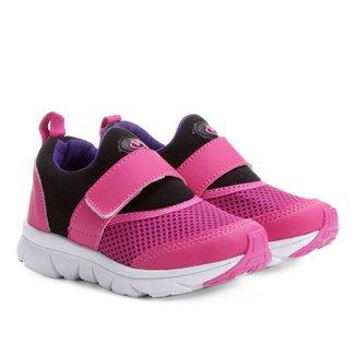 Tênis Infantil Via Vip Jogging Com  Feminino