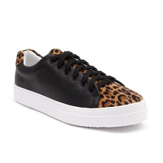 Tênis JL Shoes Casual Leve Animal Print Feminino