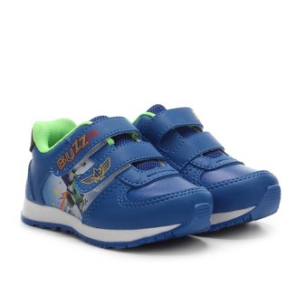Tênis Jogging Infantil Disney Velcro Buzz Light Year