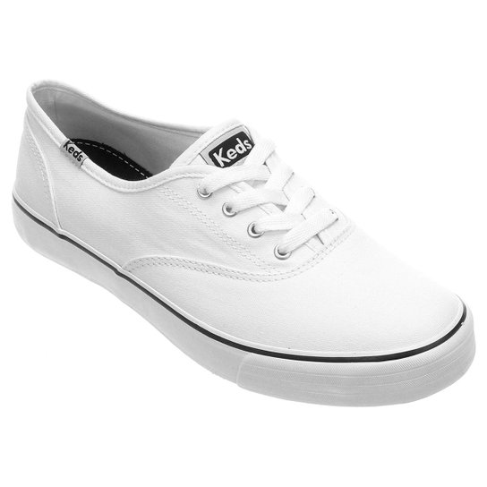 Tênis Keds Double Dutch Canvas - Branco+Preto