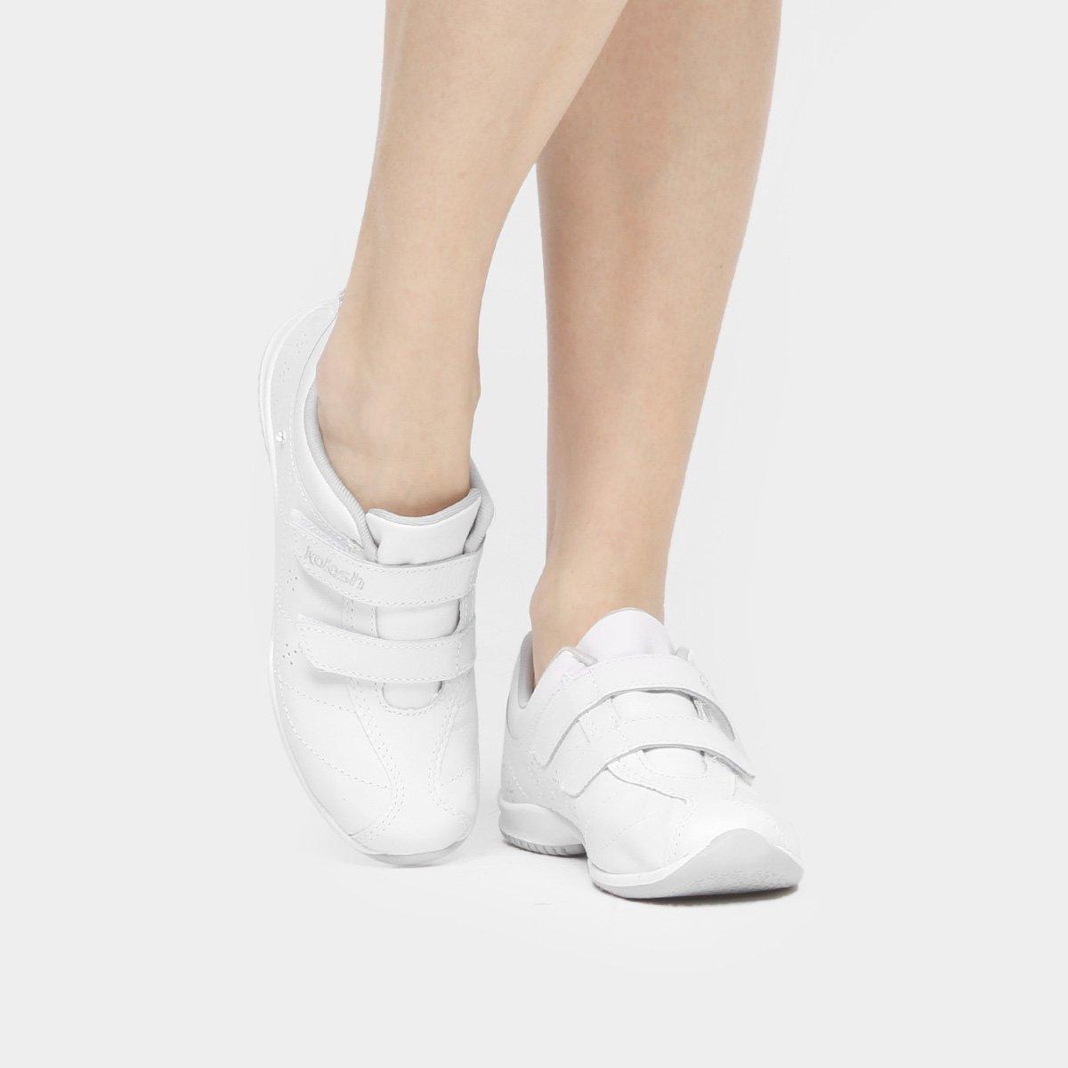 Velcros Branco Feminino Kolosh Tênis Strass Velcros Strass Branco Tênis Strass Kolosh Feminino Kolosh Velcros Tênis PB4wCq66n