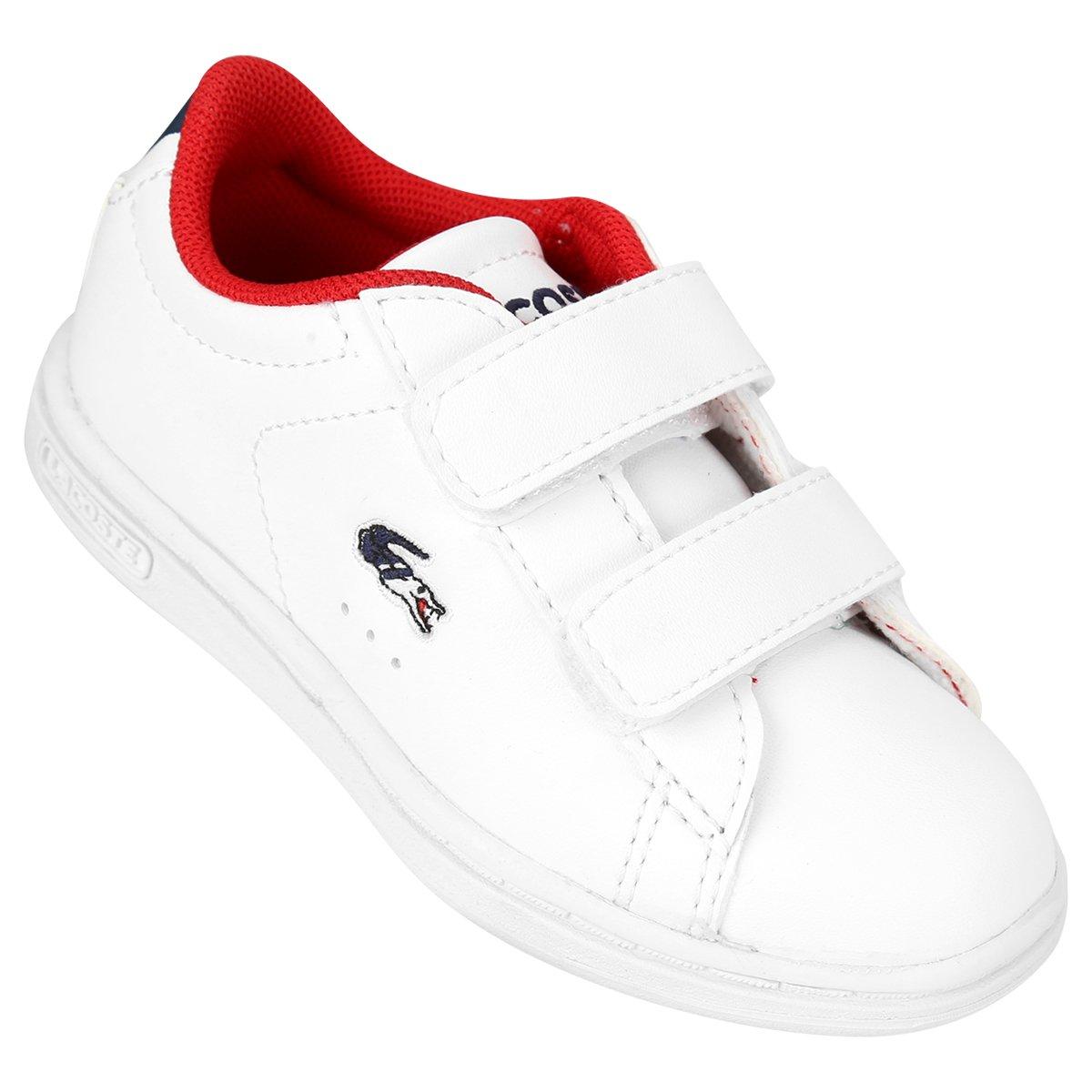 66c27413bb3 Tênis Lacoste Carnaby Evo Htb Infantil - Compre Agora