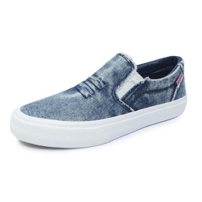 Tênis Mary Jane Slip Destroyer Jeans