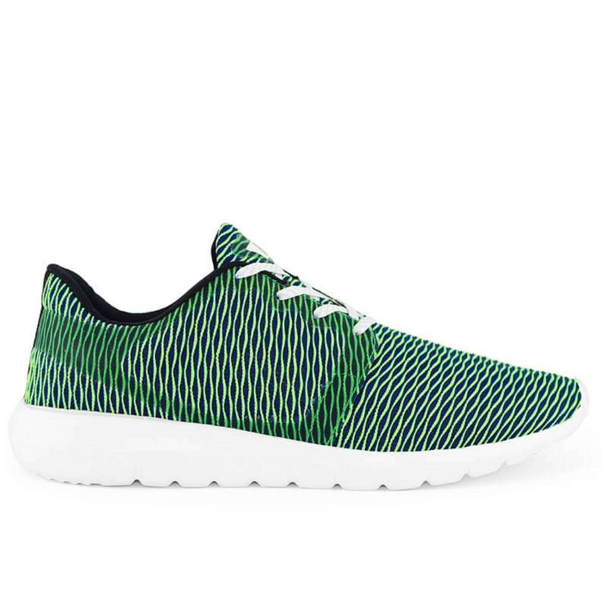 e Tênis Verde Meu Meu Tênis 0726 Sapato Branco SNAKE 0FwFqa
