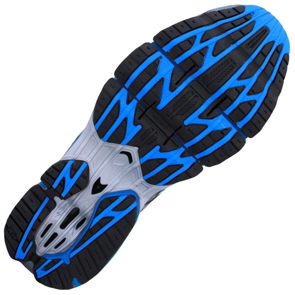 6dee5b86b0 Tênis Mizuno Wave Prophecy 7 Masculino - Prata e Azul - Compre Agora .