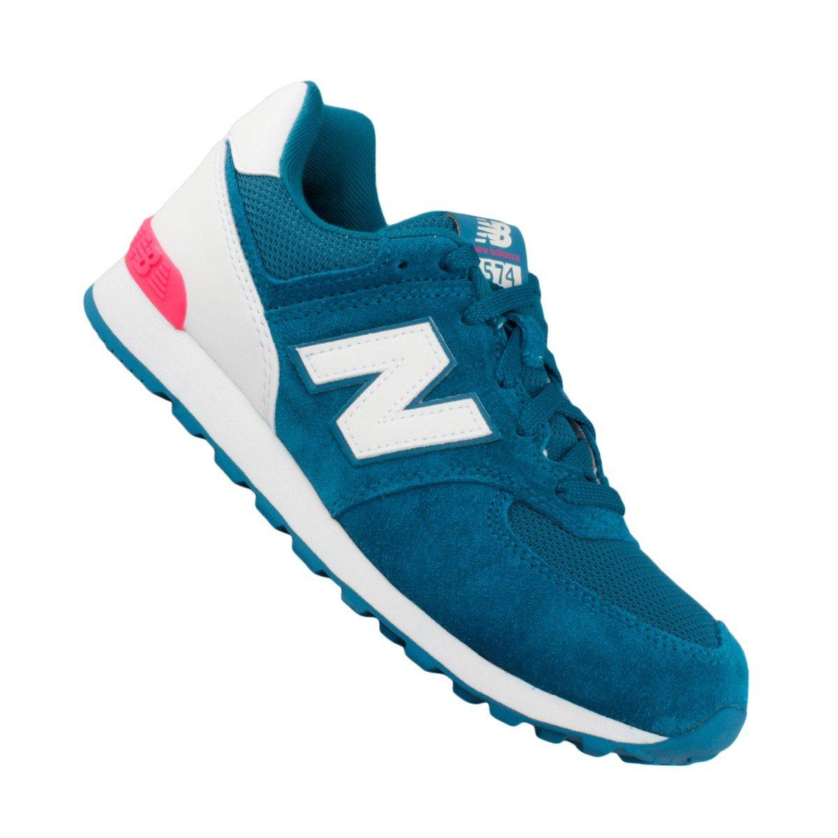 new balance 574 feminino azul