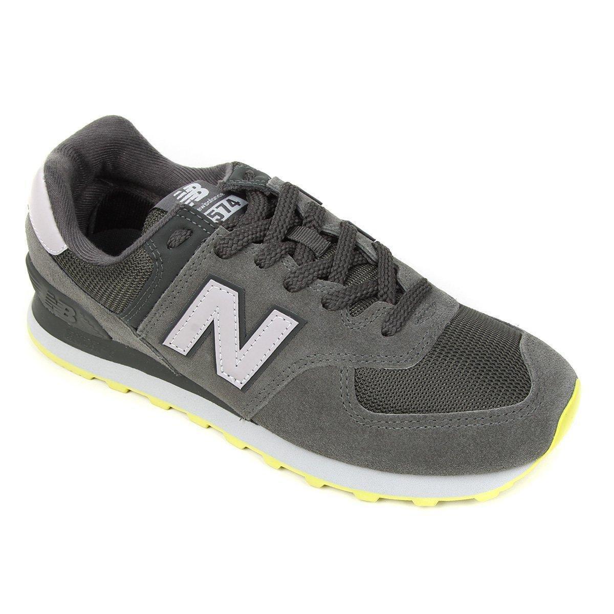 Tênis New Balance 574 Masculino - Verde   Zattini