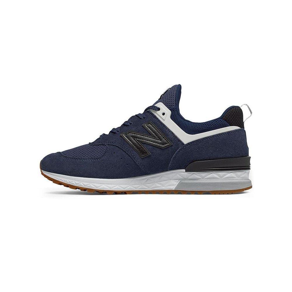 Suede Tênis Preto Sport Azul e New Masculino 574 Balance xIqRawHP