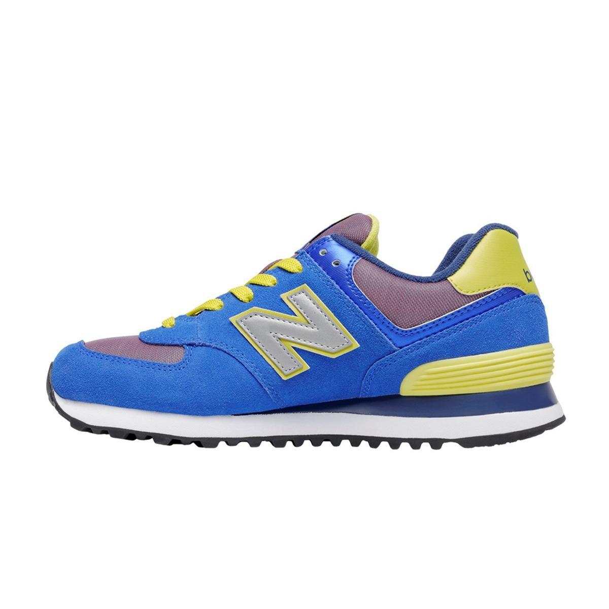 Tênis New Balance 574 Tiki Feminino - Compre Agora   Zattini 1a6faf1b90