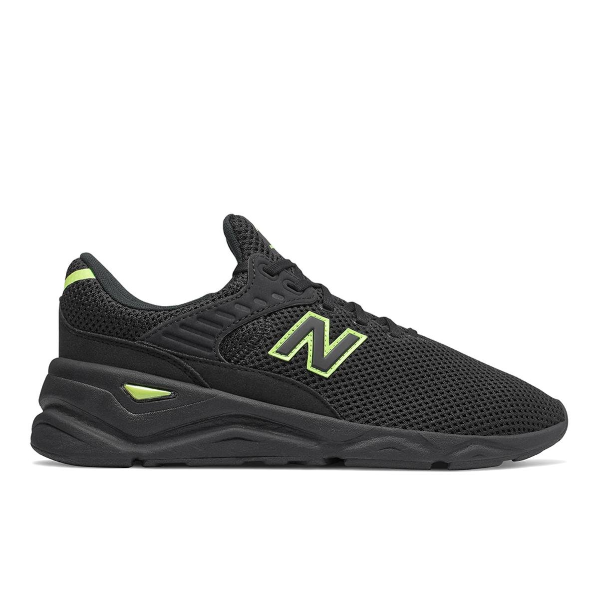 new balance preto e verde