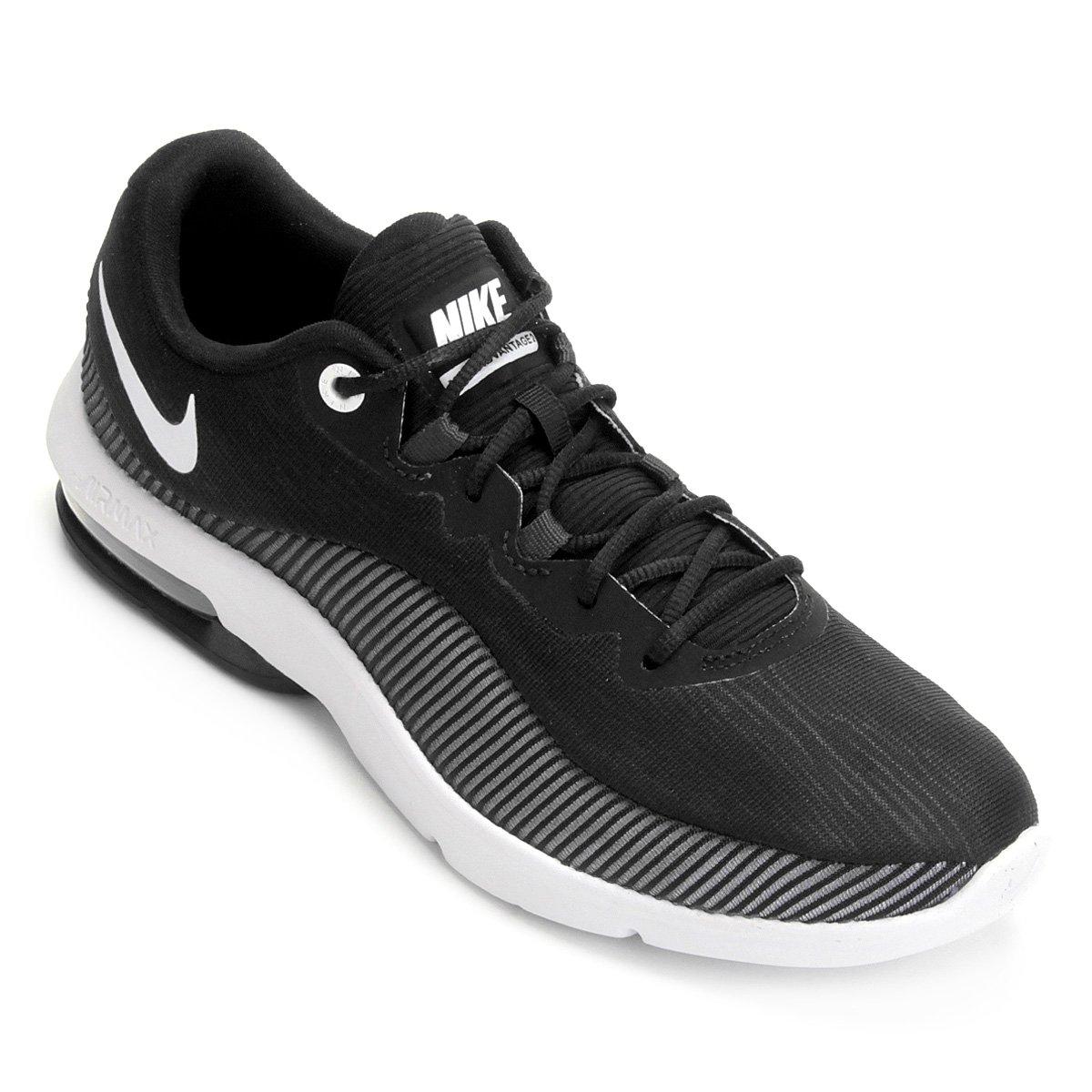 528f09f6e8f Tênis Nike Air Max Advantage 2 Feminino - Preto e Branco -  Compre . f85c303a11156