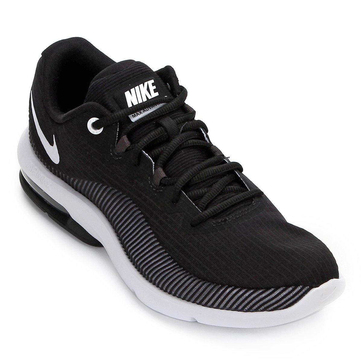 info for 9f177 1f390 Tênis Nike Air Max Advantage 2 Masculino - Preto e Branco   Zattini