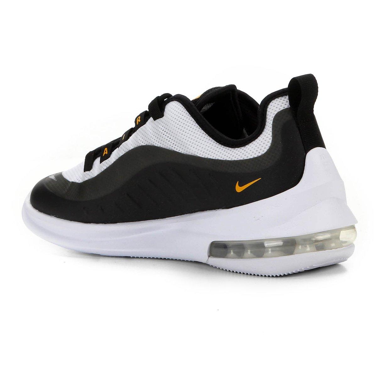 Tênis Nike Air Max Axis Masculino Preto e Amarelo