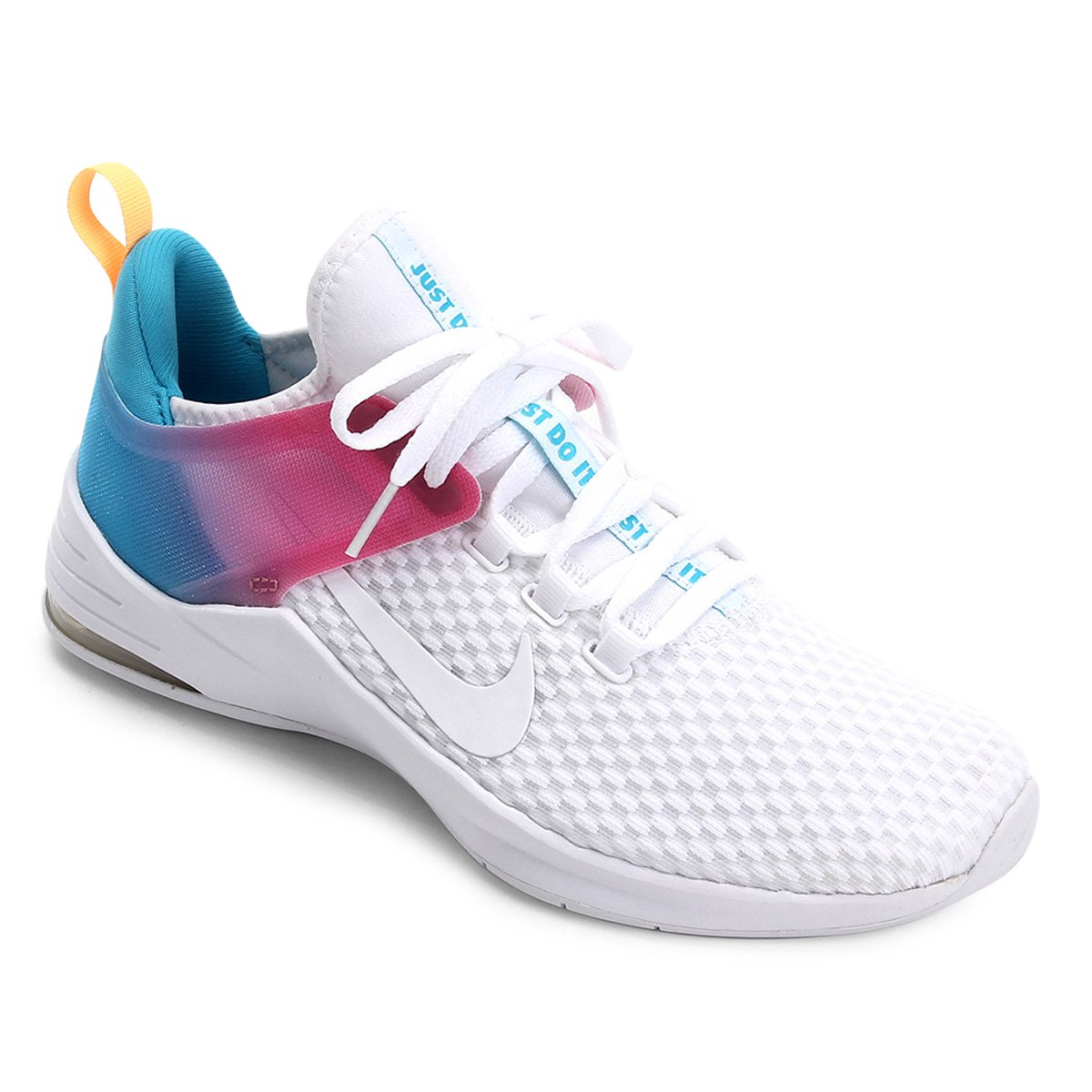 Tênis Nike Air Max Bella Tr 2 Feminino Branco E Azul