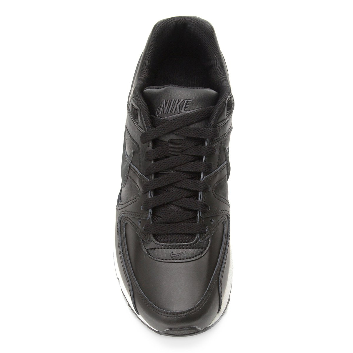 air max command black leather