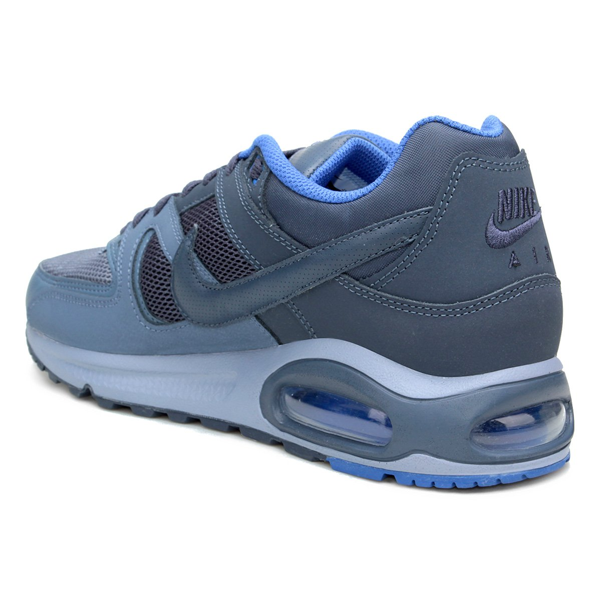 ed1be89f3c Tênis Nike Air Max Command Masculino - Azul - Compre Agora