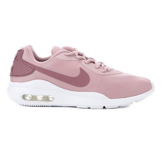 Tênis Nike Air Max Oketo Feminino Rosa E Branco