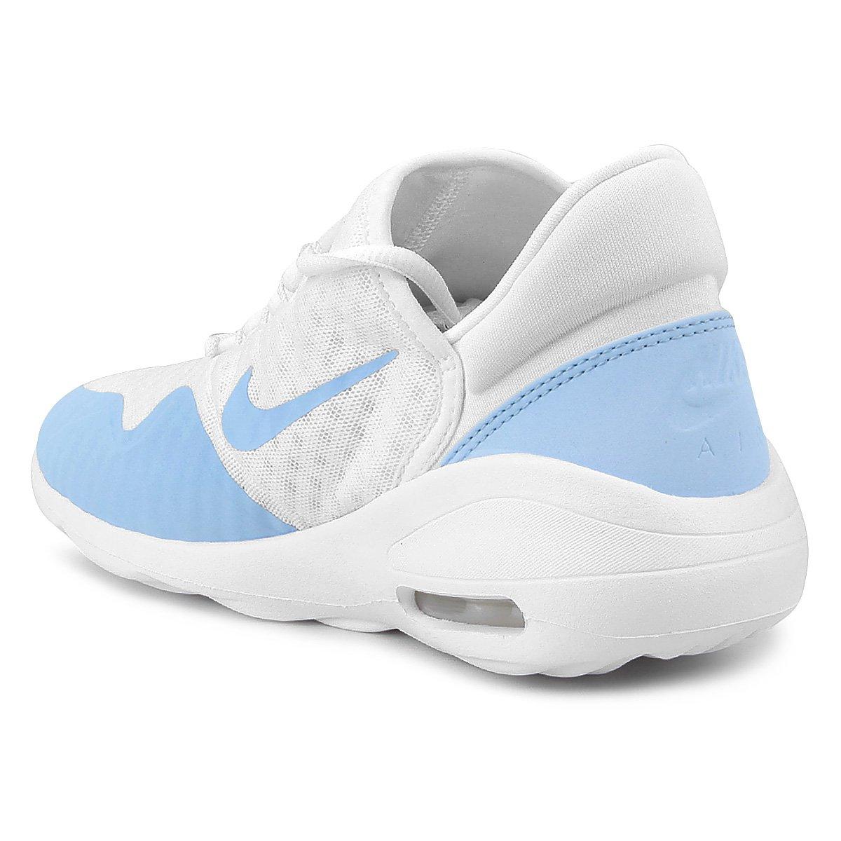 Tênis Nike Air Max Sasha Feminino - Branco e Azul - Compre Agora ... ec888979f0
