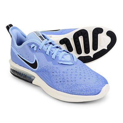 Tênis Nike Air Max Sequent 4 Feminino Azul Claro | Zattini