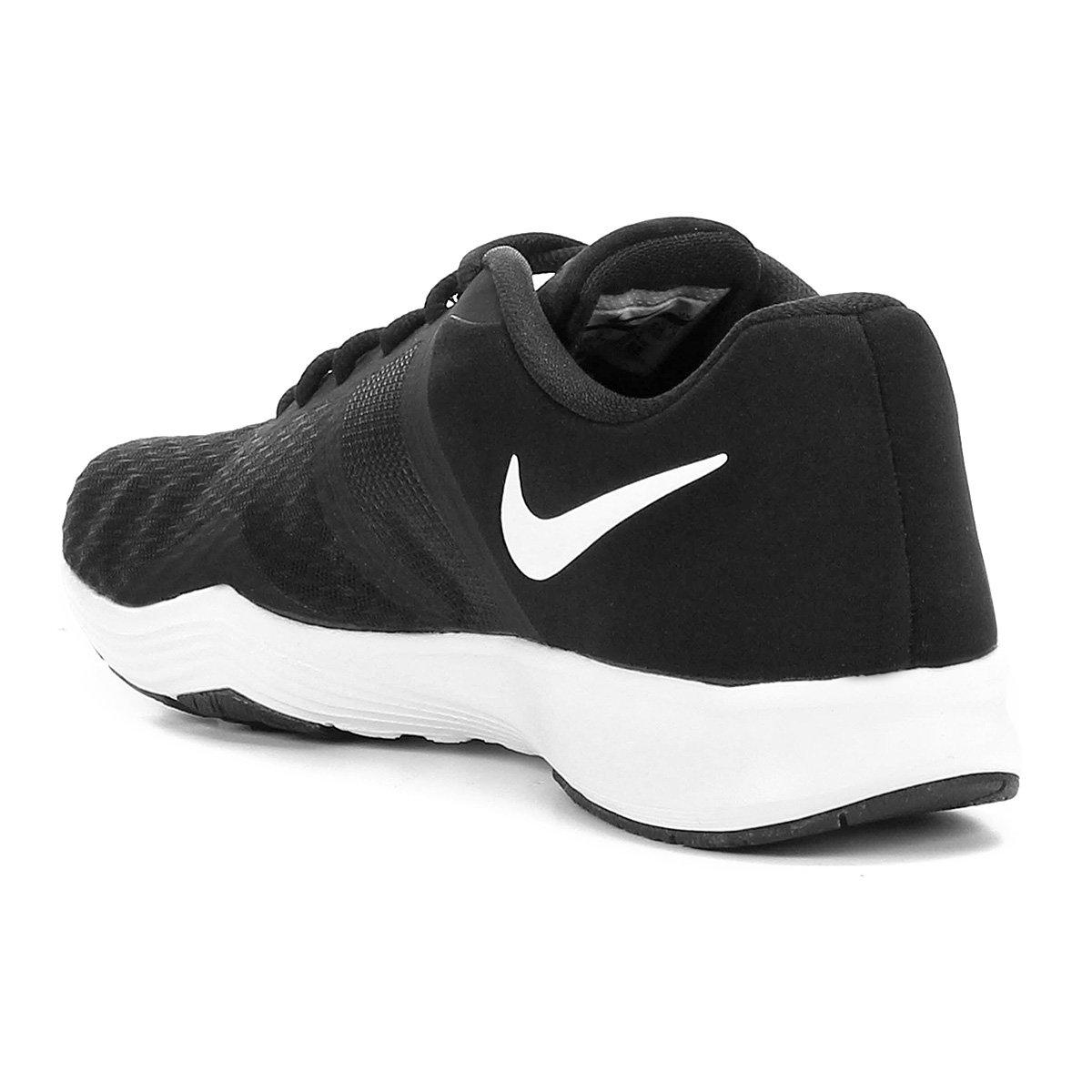 Tênis Nike City Trainer 2 Feminino - Preto e Branco - Compre Agora ... d2074d4b087ce