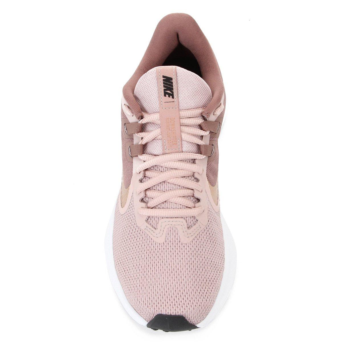 nike downshifter 9 feminino rosa