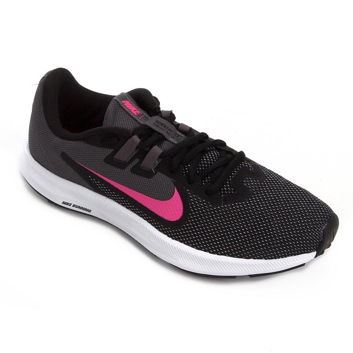 Tênis Nike Downshifter 9 Feminino Preto E Branco Zattini