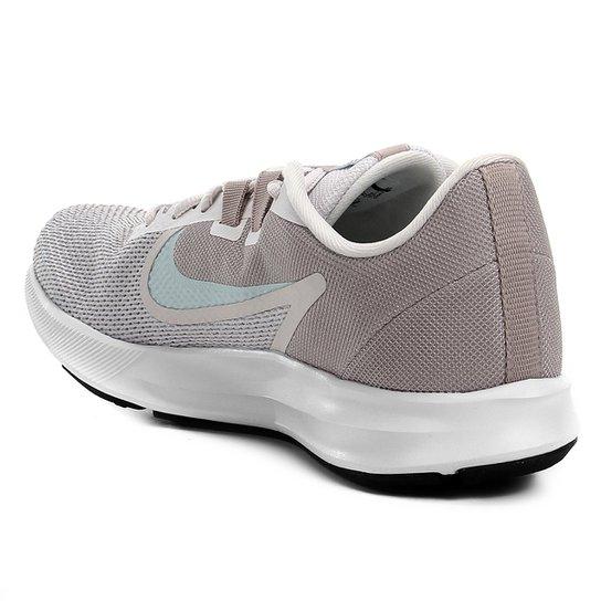 Tênis Nike Downshifter 9 Feminino Cinza E Azul