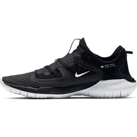 Tênis Nike Flex 2019 Run Feminino Chumbo E Branco