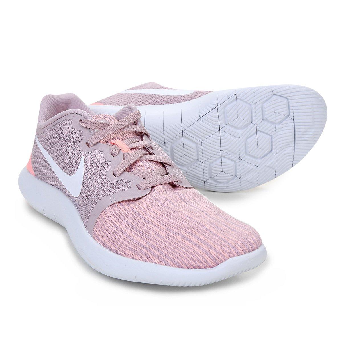 2eec27c6a Tênis Nike Flex Contact 2 Feminino - Rosa - Compre Agora