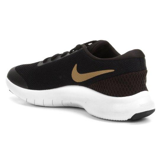 Tênis Nike Flex Experience Rn 7 Feminino Preto E Dourado