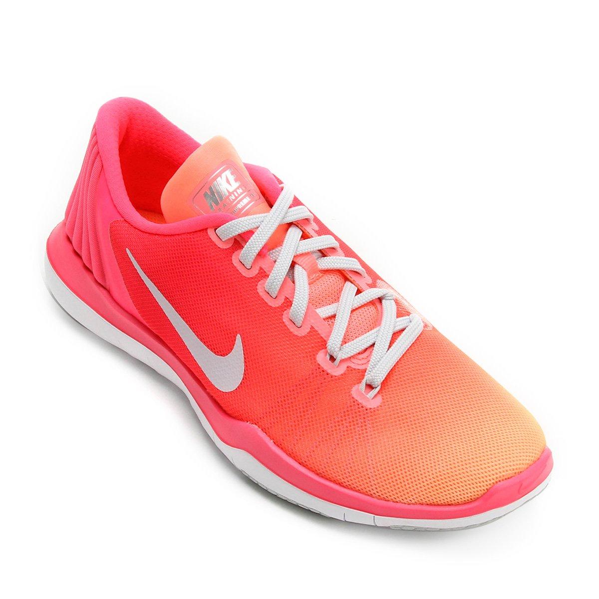 8a778c62d83fe Tênis Nike Flex Supreme Tr 5 Fade Feminino - Compre Agora